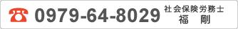 0979-64-8029 社会保険労務所 副 剛